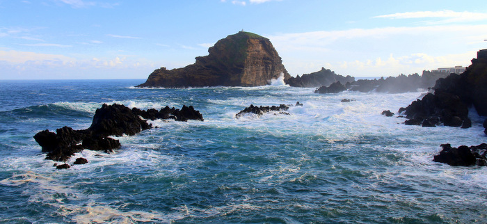 The Rocky Coastline of Porto Moniz - Funchal, Madeira